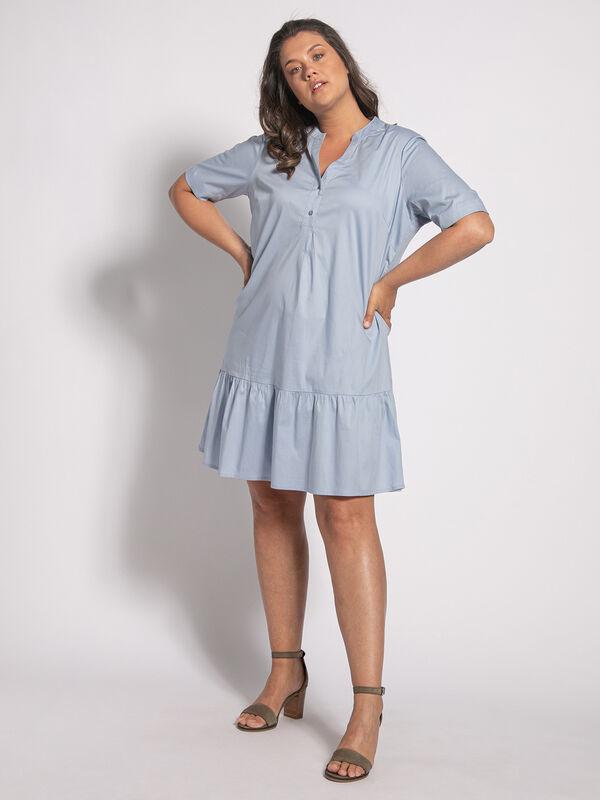Junarose Gralle Kleid Hellblau Dress For Less