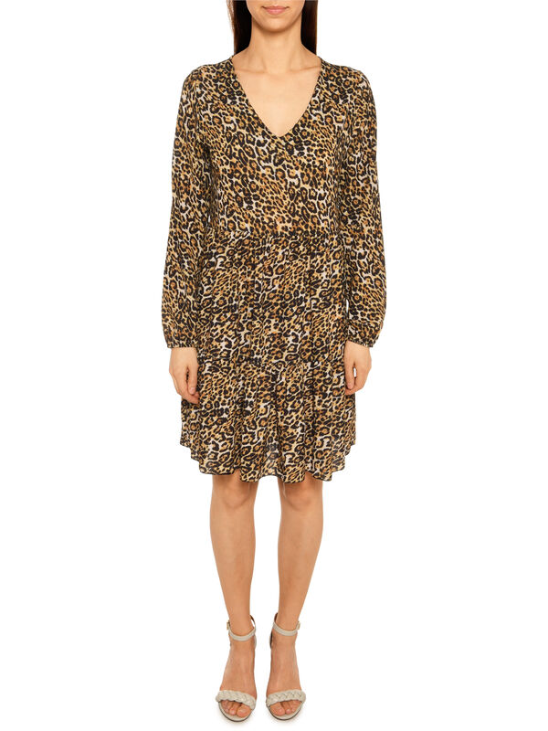 Mishumo Kleid Franzi schwarz/gelb   Dress-for-less