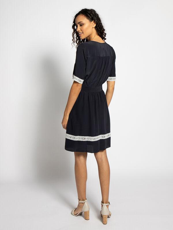 Tommy Hilfiger Kleid Marilena schwarz | Dress-for-less