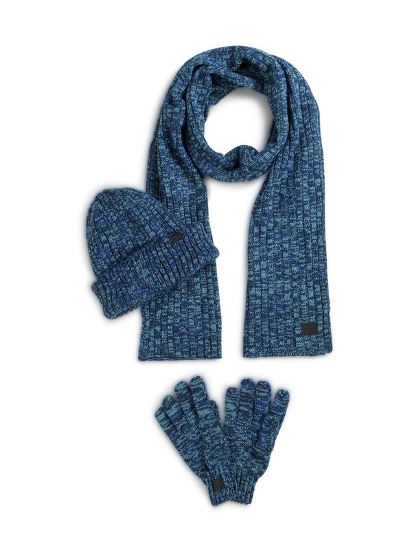 Schal + Mütze + Handschuhe