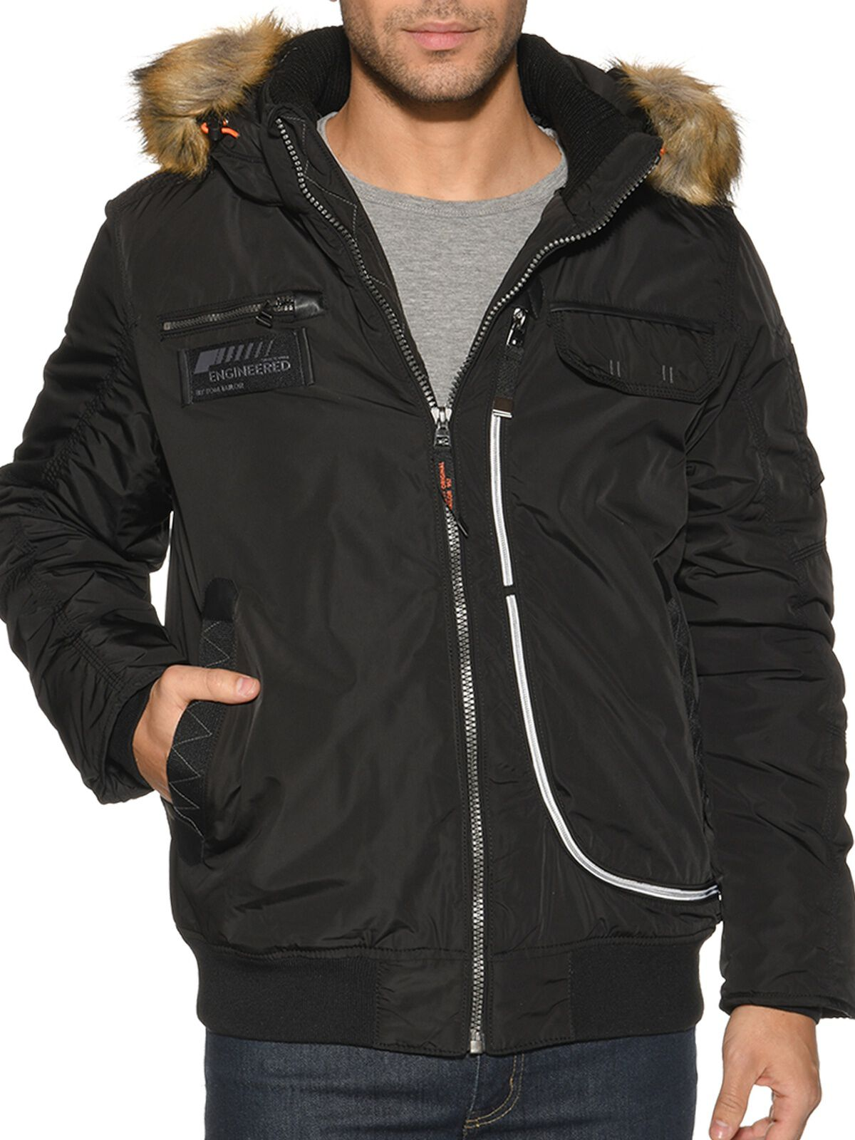 jacke in schwarz tom tailor