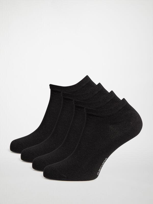 Sneakersocken 4er Set